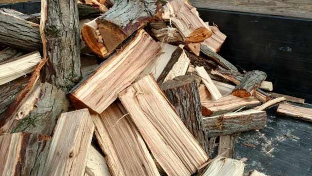 split-firewood-in-pile