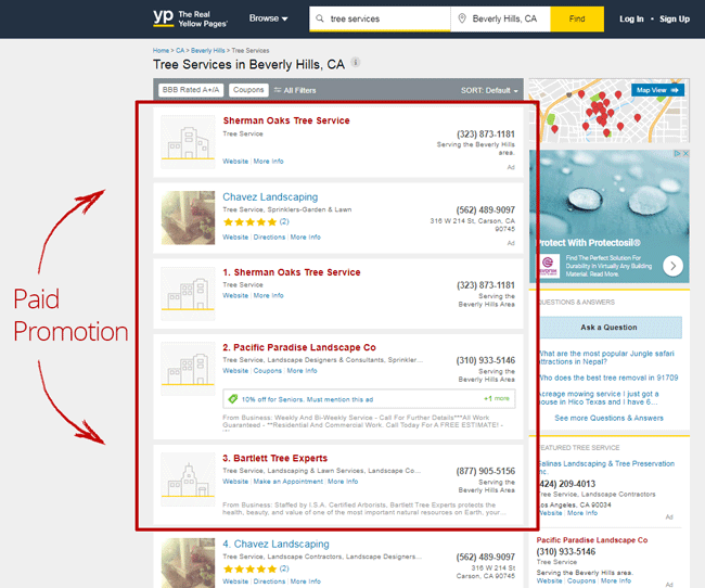 yellow-pages-top-results-are-paid