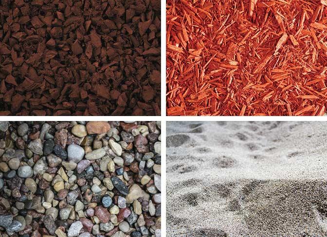 Four-Mulch-types