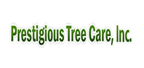 Prestigious tree care logo