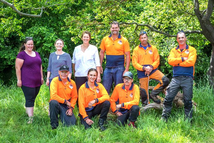 family tree service team photo