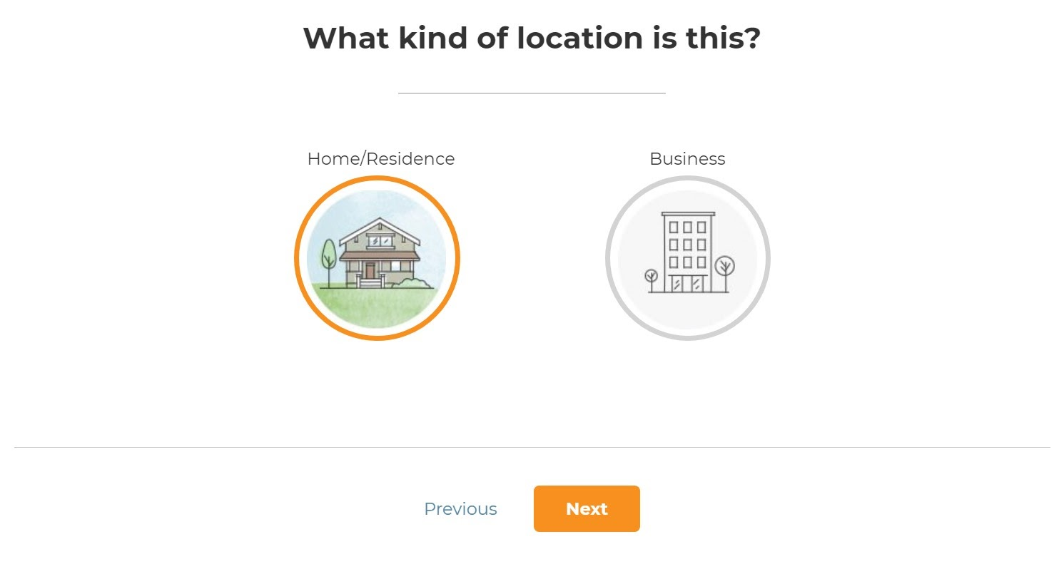 type of location