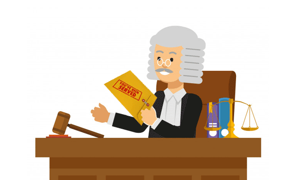 your being served judge